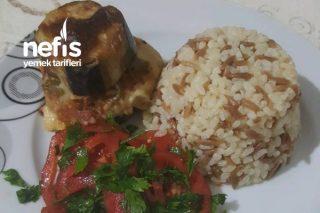 Yalancı Patlıcan Kebabı (Milföy Hamurlu Ve Beşamel Soslu ) Tarifi