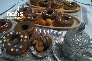 Çikolatalı Donut (28 adet) Tarifi