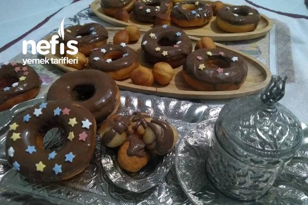 Çikolatalı Donut (28 adet)
