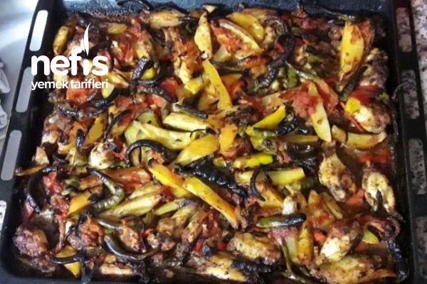 Fırında Tavuk Patates