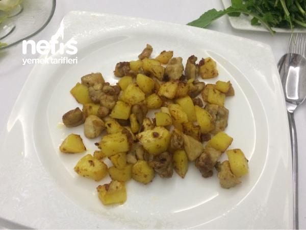 Patatesli Tavuk Kavurma