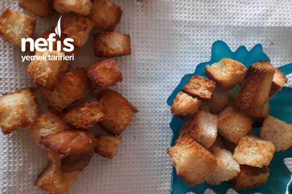Sade Kıtır Ekmek Tarifi Kruton