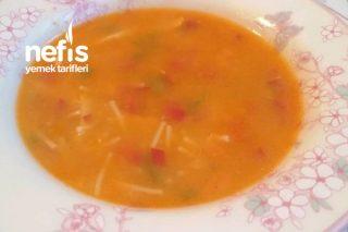 Sebzeli Tek Şehriyeli Tavuk Çorbası Tarifi