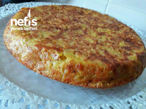 Tavada Kahvaltılık Patates Börek