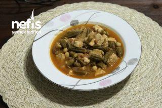 Bamya Tarifi (Tavuklu) Bamya Sevmeyenler Bile Artık Bamya Yiyecek