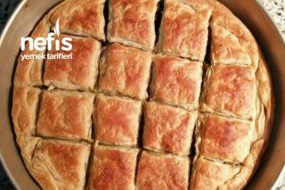 Ispanaklı Kıymalı Arnavut Böreği (El Açması) Tarifi