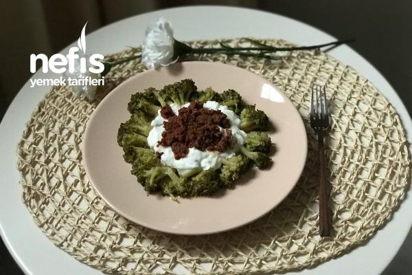 Kalorisi Düşük Bol Yemelik Mantı (Brokoli Mantı) Tarifi