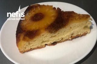 Karamelli Ananaslı Kek Tarifi