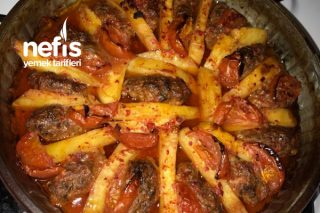Köfte Patates Yemeği (Pratik-Lezzetli) Tarifi
