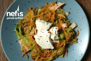 Proteinli Kalorisi Düşük Sebze Spagetti Tarifi