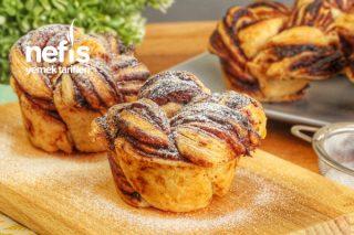 Sadece 2 Malzemeyle Çikolatalı Milföy Muffin (videolu) Tarifi