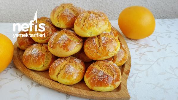 Dışı Kıyır İçi Yumuşak Portakallı Şam Kurabiyesi(hazır Alınmış Gibi)