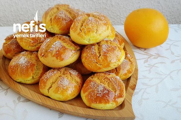 Dışı Kıyır İçi Yumuşak Portakallı Şam Kurabiyesi(Hazır Alınmış Gibi) Tarifi