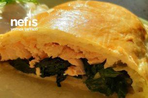 Ispanaklı Somon Böreği Tarifi