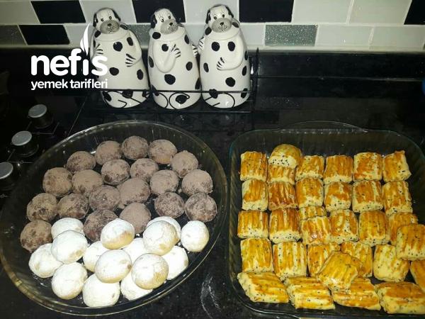 Küllü Kurabiye & Çörek Otlu Tuzlu Kurabiye