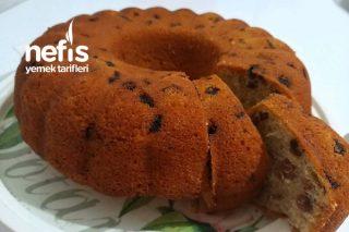 Kuru Üzüm Ve Kuru Kayısılı Kek ( Su İle) Tarifi