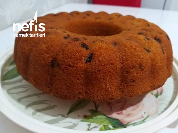 Kuru Üzüm Ve Kuru Kayısılı Kek( Su İle)