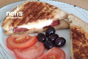 Tahıl Ekmekli Tost (Yağsız) Tarifi