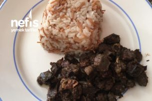 Ciğer Sote tel Şehriyeli Pirinç Pilavı Tarifi