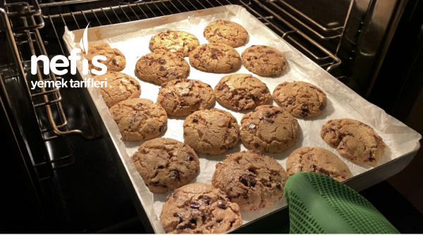 Damla Çikolatalı Kurabiye (Chocolate Chip Cookie)