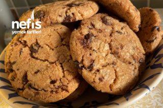 Damla Çikolatalı Kurabiye (Chocolate Chip Cookie) Tarifi