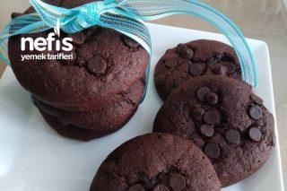 Glutensiz Un İle Çikolatalı Kurabiye Tarifi