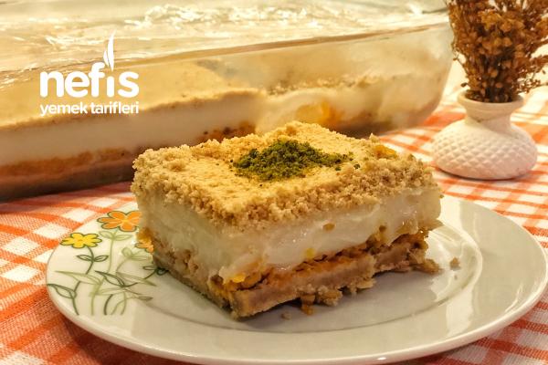 Muhallebili Cezeryeli Pasta Tarifi