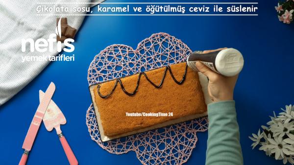 Pastamia Tarifi – Ballı Cevizli Pasta (Videolu)
