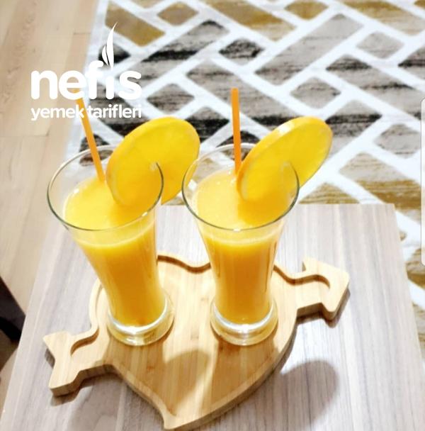 Ev Yapımı Portakal Suyu