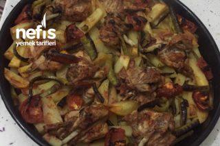Fırında Patatesli Tavuk Tarifi