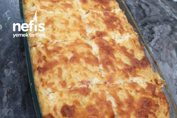 Fırında Peynirli Erişte Tarifi