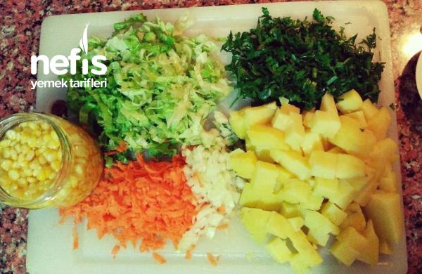 Mısırlı Patates Salatası