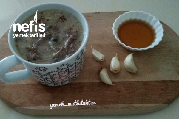 Terbiyeli Et Çorbası ( Şifa Çorbası) Tarifi