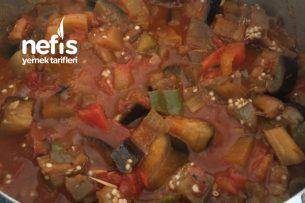 Zeytinyağlı Patlıcan Türlüsü Tarifi