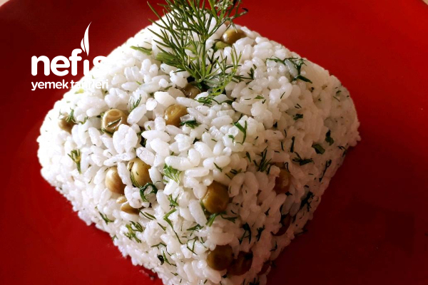 Bezelyeli Dereotlu Pirinç Pilavım (Müthiş Lezzet) Tarifi