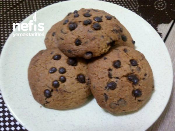 Bol Çikolatalı Granül Kahveli Kurabiye ( Enfesss Lezzet )