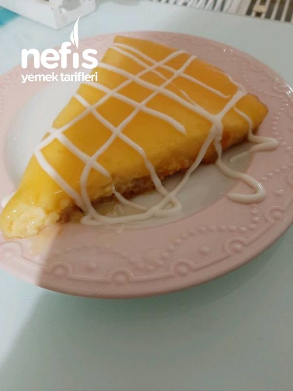 Borcamda Limonlu Cheesecake