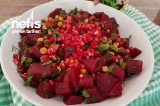 Çok Beğenilen Pancar Salatası Tarifi