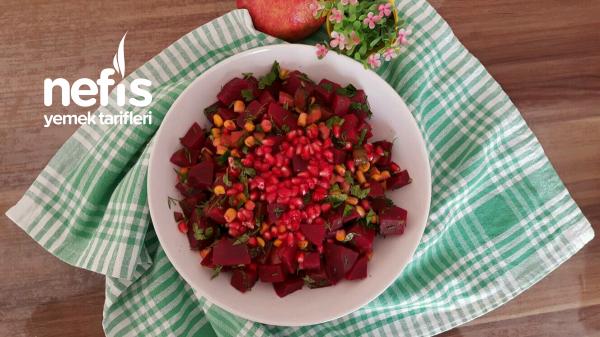 Çok Beğenilen Pancar Salatası