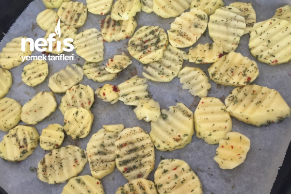 Diyette Olanlar İçin Fırın Patates