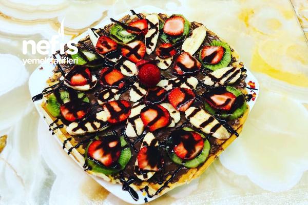 Ev Yapımı Nefis Waffle Tarifi