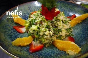 Kinoalı Meyveli Tabbule Salatası Tarifi