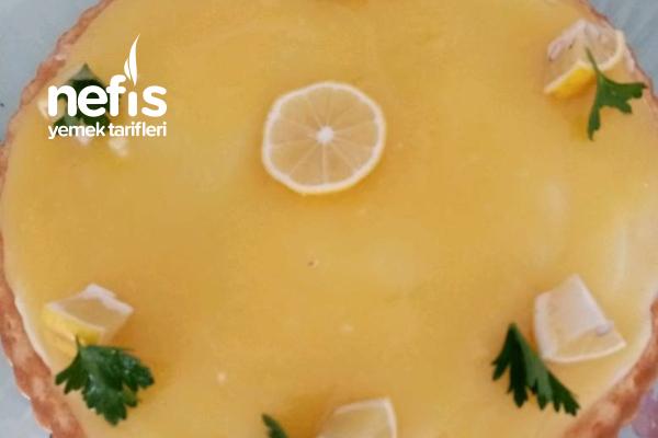 Limonlu Tart Kek Tarifi