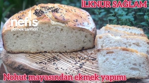 Nohut Mayası Nasıl Yapılır/nohut Mayasından Ekmek Yapımı