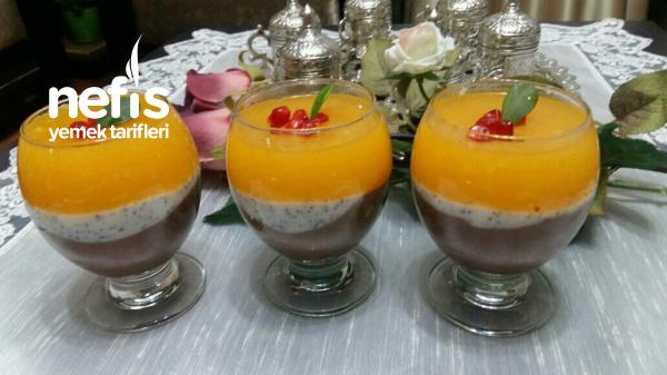 Portakal Soslu Haşhaşlı Kup