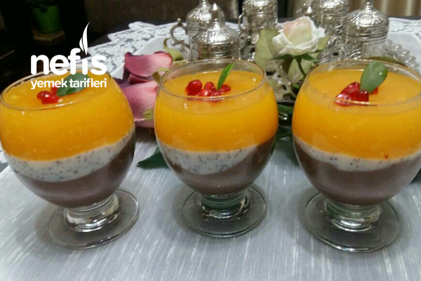 Portakal Soslu Haşhaşlı Kup Tarifi