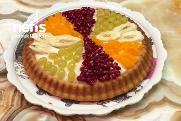 Sade Meyveli Tart Pasta Tarifi