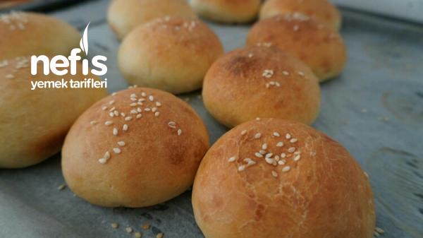 Yumuşacık Hamburger Ekmekleri