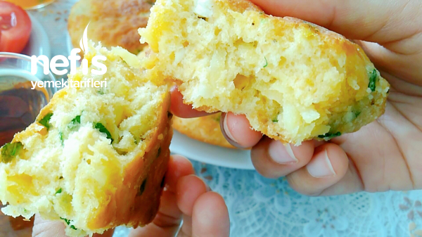 10 Dakikada Hazırlayıp Tavada Pişirin Patatesli Peynirli Tavadan Kahvaltılık