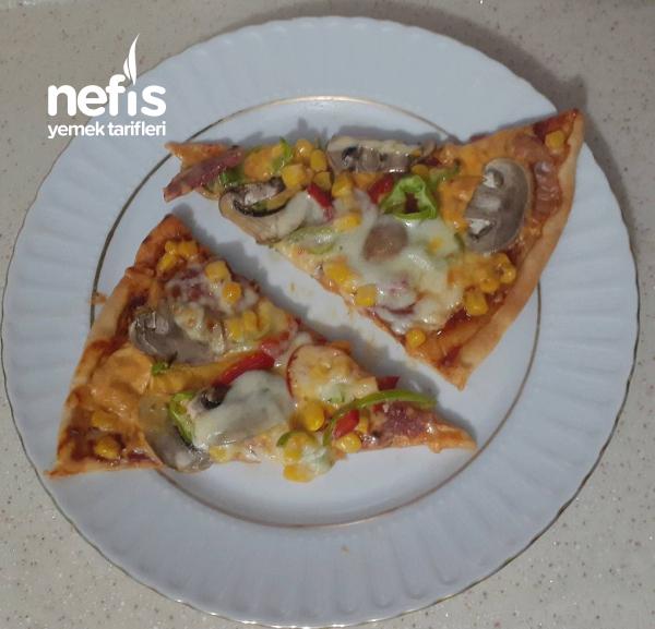 Ev Yapımı Dominos Pizza